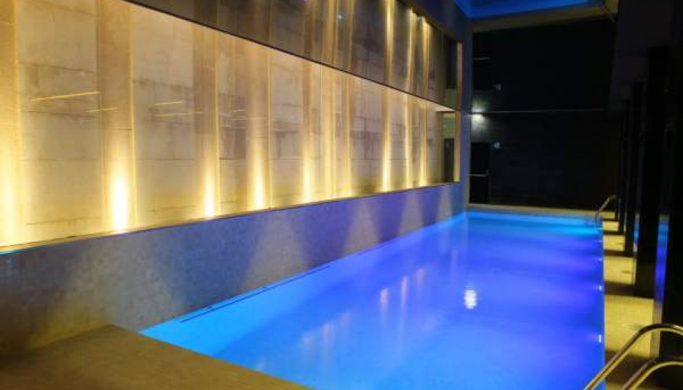 hotel alfonso zaragoza piscina